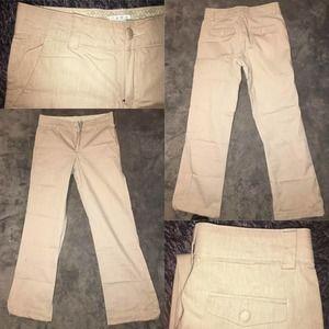 Lee Platinum Straight no-gap waistband Khaki Pants